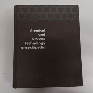 Chemical and Process Technology Encyclopedia (hardcover Book)