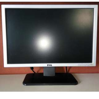 "DELL 19"" Widescreen Monitor 16:9 Aspect Ratio Screen HDMI VDA DVI"