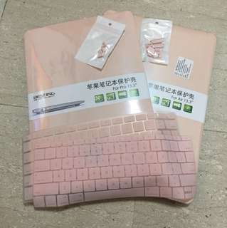 Macbook AIR Pastel Pink Case INSTOCK