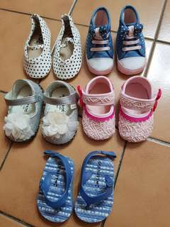 Baby Girls Shoes for 6 to 12 months