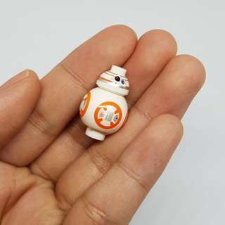 Lego-Like BB-8 Star Wars Droid Figure Minifigure