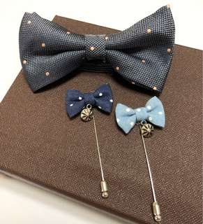 Bow-tie & Lapel Pins
