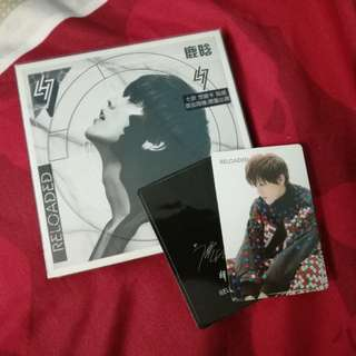 Luhan reloaded album with photocard