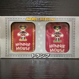 2001 sega Mikey mouse & his friend poker card