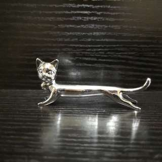 Miniature cat figure
