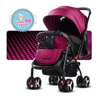 Baby Stroller Two In One Which Is Convenient And Easy To Carry Anywhere