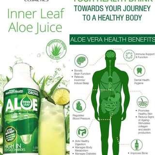 Aloe Vera Juice. (Promo Price)