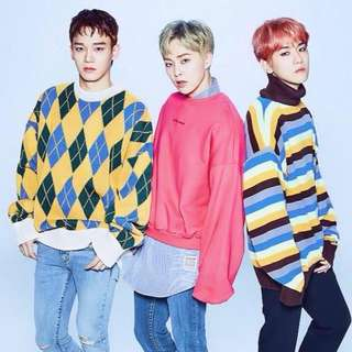 EXO CBX 2nd Mini Album + Photobook + Poster + Special Postcard