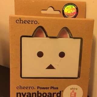 全新Cheero nyanboard 6000mAh 流動充電器