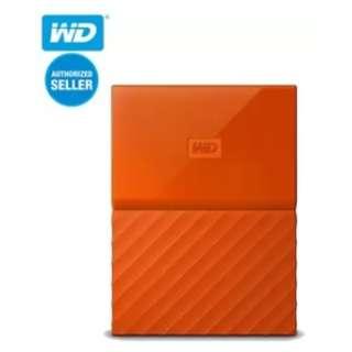 WD My Passport Portable Hard Drive 2TB (Orange)