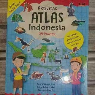 Buku aktivitas Atlas Indonesia