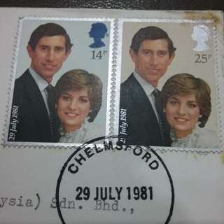 THE PRINCE OF WALES & LADY DIANA SPENCER