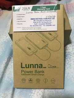 Zola Lunna Power Bank - 10500mAh
