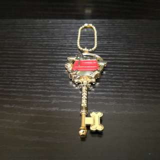 Snoopy key motive keychain