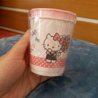 Hello Kitty 膠杯2隻