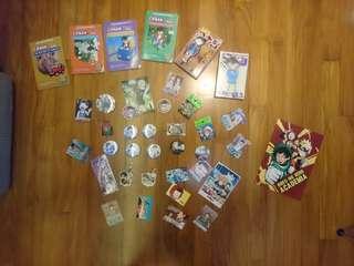 small anime grabbag!