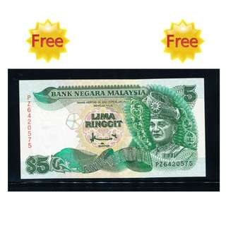 FREE !!! (Zero Cost) :  Old Malaysia Bank Note  (UNC)