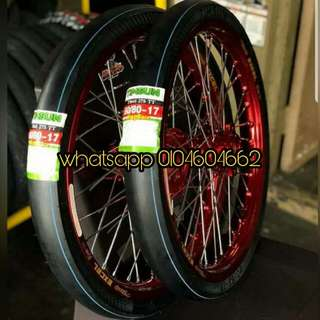 TIMSUN TYRE 100%HOT-MELT(FULL SLIP) LIMITED EDITION