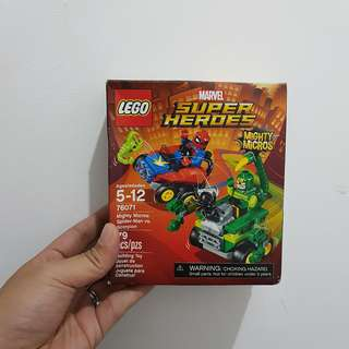 LEGO Marvel Super Heroes Mighty Micros: Spider-Man vs. Scorpion