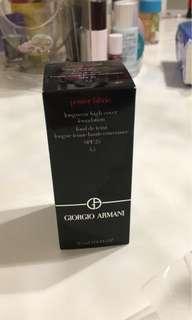 Giorgio Armani power fabric