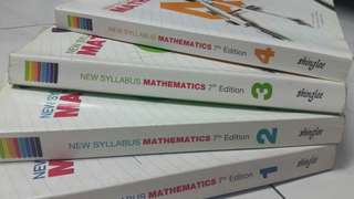 Secondary 1-2 Emath text books(both)