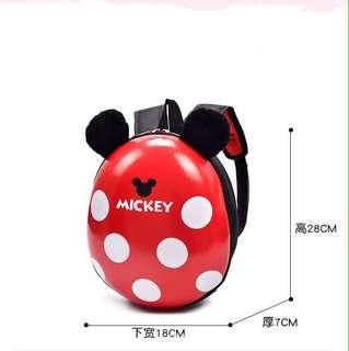 Cuties minnie pokodot red shell backpack