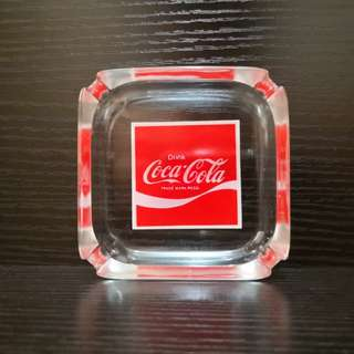Coca-Cola glass astray