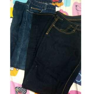 [BUNDLE] Bench and Crissa Jeans