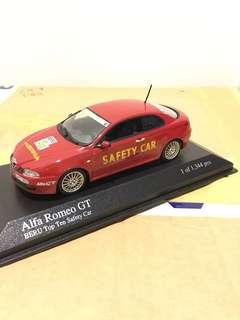 1/43 Alfa Romeo GT. 2004. BERU Top Ten Safety Car.