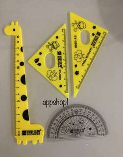 Colorful math ruler - children party goodies bag, goody bag gift