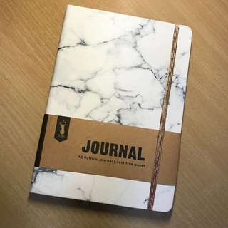 Typo Marble Notebook