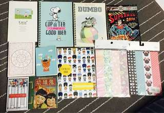 Typo Notebooks and cute paper chains Free foolscap