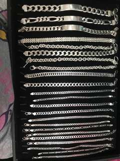FOR SALE 925 ITALY SILVER (BRACELET)