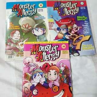 Monster Allergy comics books