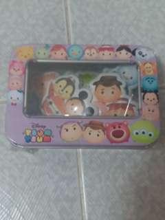 Disney Tsum Tsum 鐵盒貼紙
