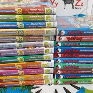 PL POKEMON BOOKS $2 EACH BOOK