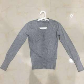 baleno grey cardigan