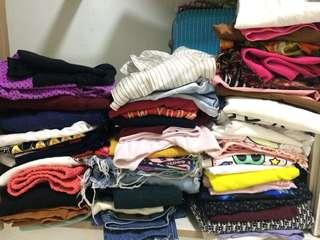 60pcs bundle dress,pants,blouse,short,swimsuit
