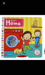 Busy Home Children Book