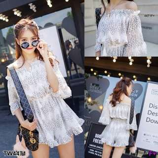 Lace romper ; shop to fashion