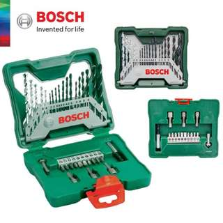 Original BOSCH 33pcs Special X-Line Screwdriver Bits & Drill Bits Mini Set (2607019325)