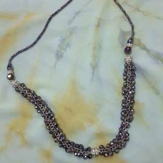 bLing-bling 2 in 1 necklace + bracelet