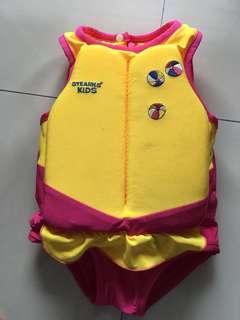 Stearns Children's Swim 'N Float 2 in 1 Swimsuit & Personal Flotation Device