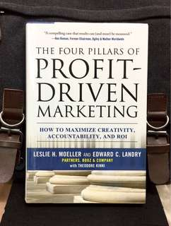 # Highly Recommended《Bran-New + Hardcover Edition + The First Proven System For Maximizing Your Marketing Spend !》THE FOUR PILLARS OF PROFIT- DRIVEN MARKETING : How to Maximize Creativity, Accountability, and ROI