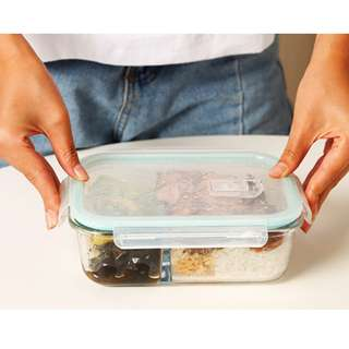 microwave refrigerator storage box glass container