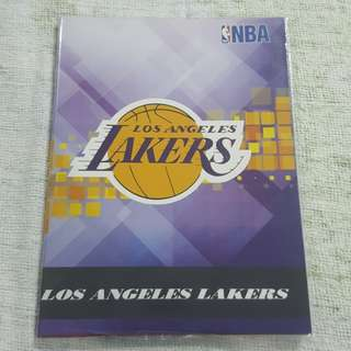Replica Brand New NBA Los Angeles Lakers Notebook