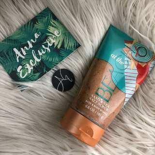 Authentic BATH & BODY WORKS At The Beach Sand & Sea Salt Scrub