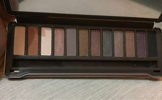 Naked2 eyeshadows
