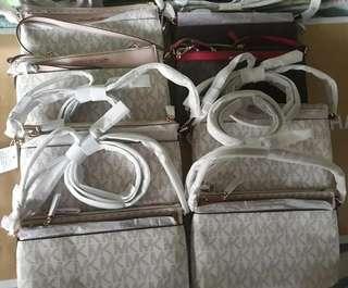 Michael Kors Large Messenger Bag  MK Messenger Bag