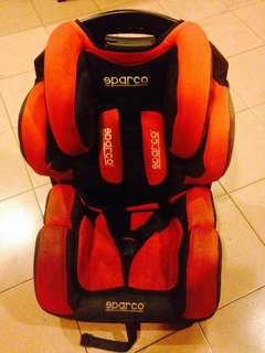 sparco baby seat
